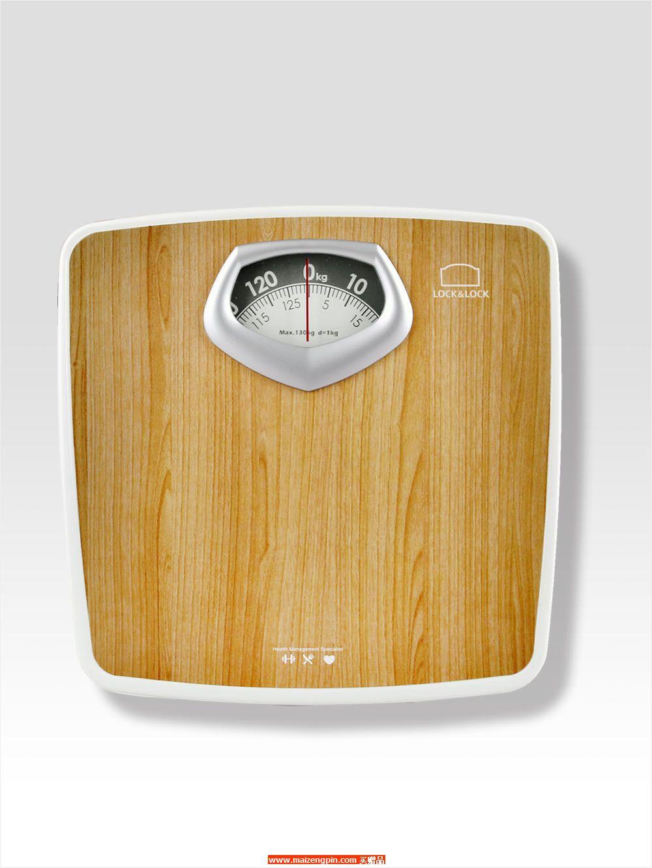 LSC-A04FU 乐扣乐扣?健康木纹机械人体秤