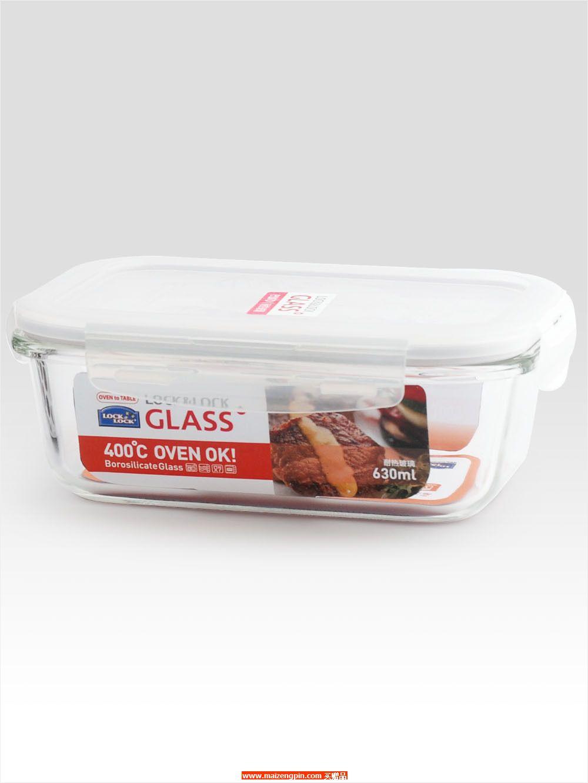 LLG 428FU 耐热玻璃保鲜盒