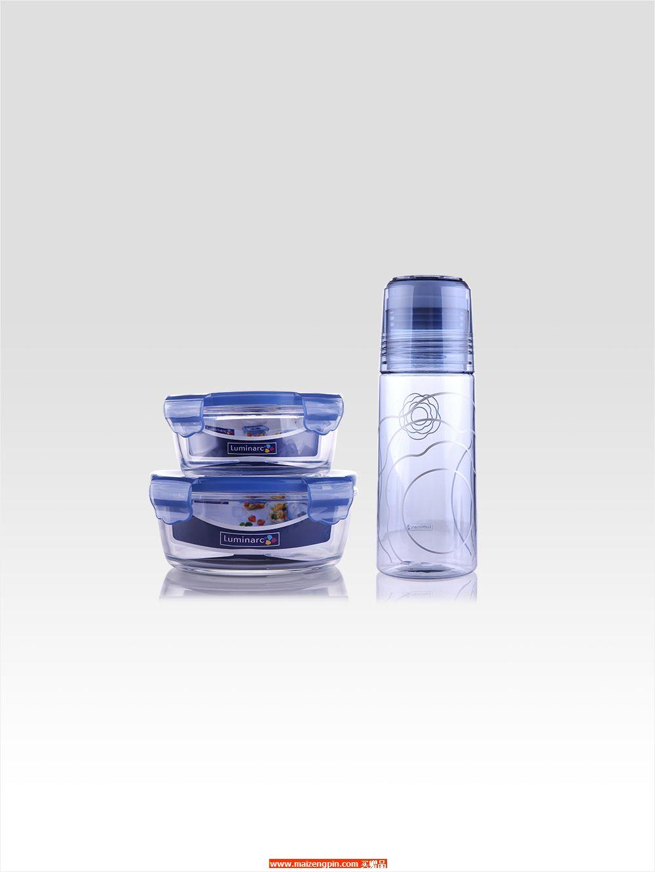 LC-S1307 凡尔赛礼品盒装三件套 (中圆形+ 小圆形+ 随手杯)
