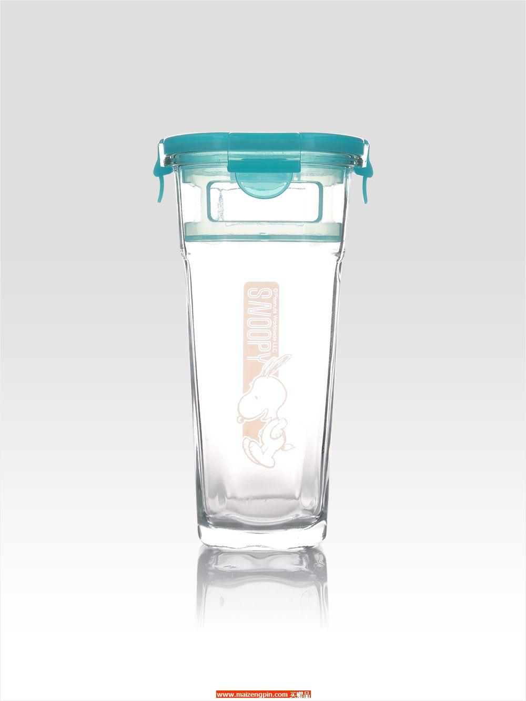 SP-A710 史努比马卡龙玻璃泡茶杯