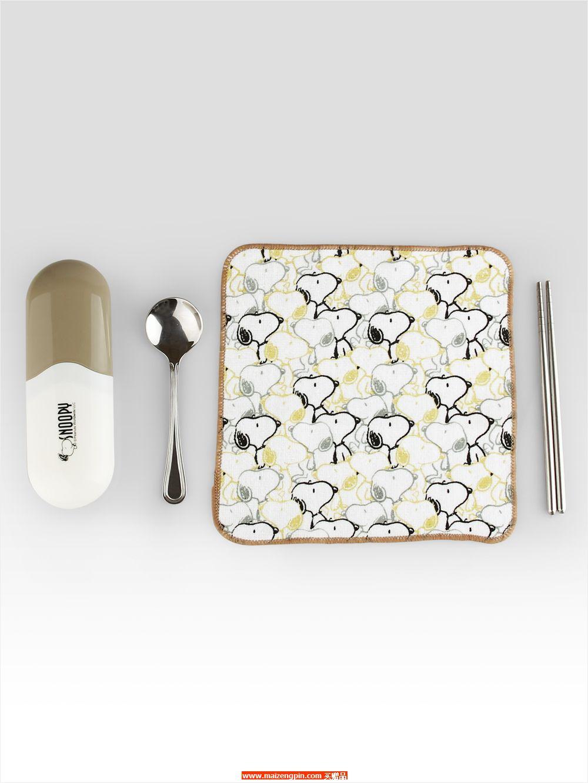 SP-F01 史努比金领结餐具组