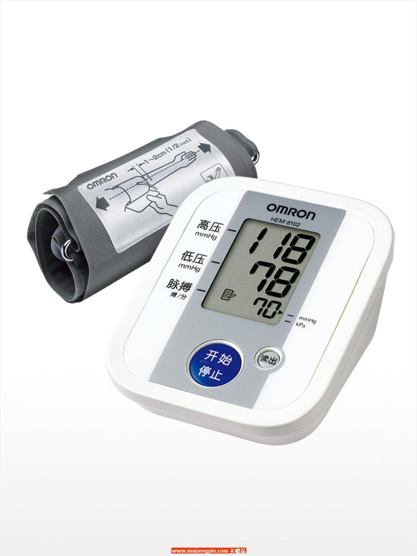 HEM-8102欧姆龙电子血压计礼品盒(上臂测试)
