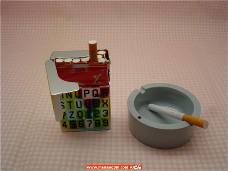 福宝双开铝制烟盒