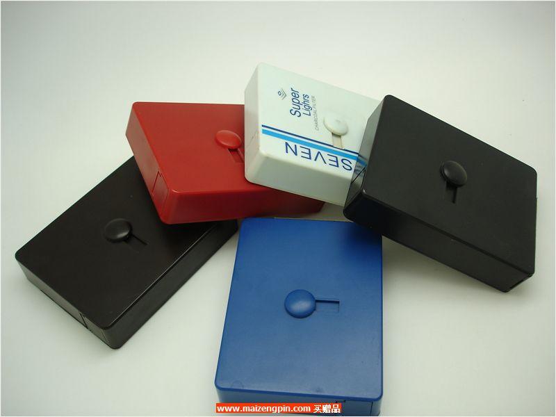铝制自动烟盒B823横推塑胶烟盒