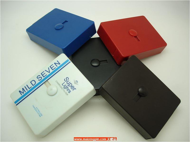 铝制自动烟盒B823横推塑胶自动烟盒