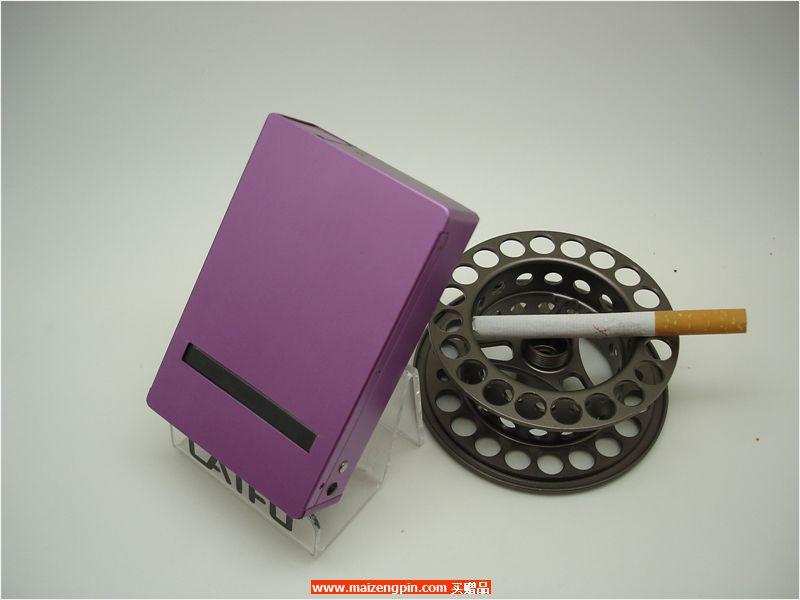 12支直推铝制透窗自动烟盒