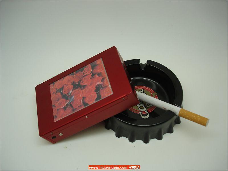 经典直推金属烟盒B804铝制直推大画烟盒