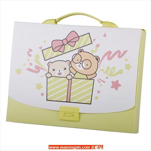 占西礼品SD系列赠品1262 小熊系列手提公文包