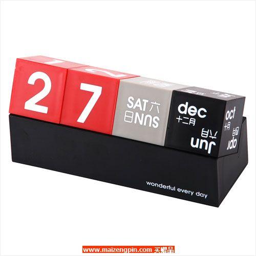 占西礼品SD系列赠品2299-A 方块万年历
