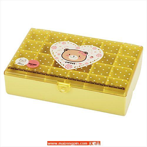 占西礼品SD系列赠品3328-C 小熊系列双层分格收纳盒