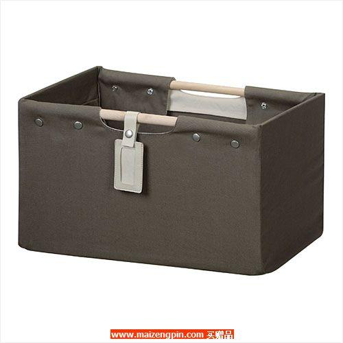 占西礼品SD系列赠品N3591 布艺敞口木柄收纳箱