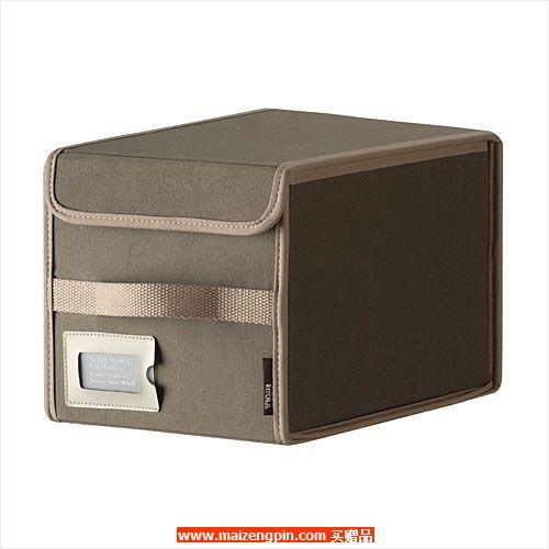 占西礼品SD系列赠品N3590 布艺翻盖收纳盒