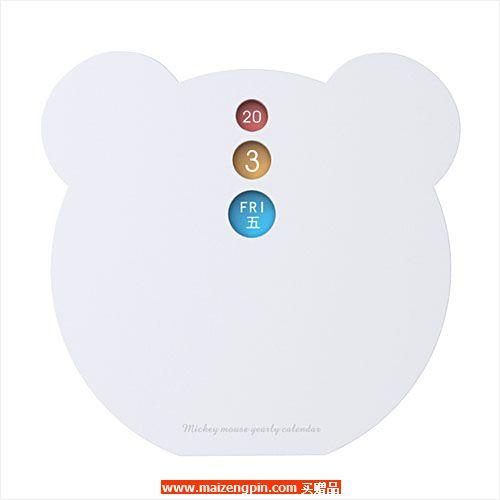 广州占西礼品SD系列赠品2281 小熊万年历