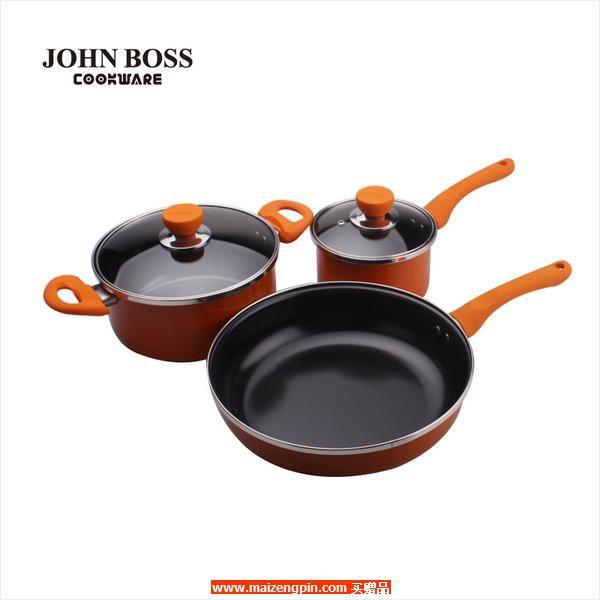 JOHN BOSS 炫彩锅具三件套 HG-1626