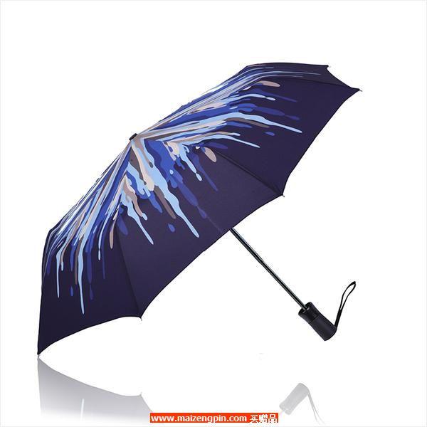 多普乐 雨伞 蓝色烟火款 7266501