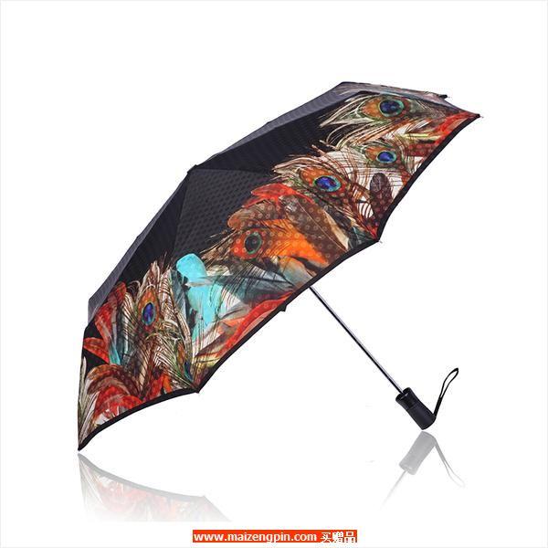 多普乐 雨伞 孔雀羽毛款 7266502