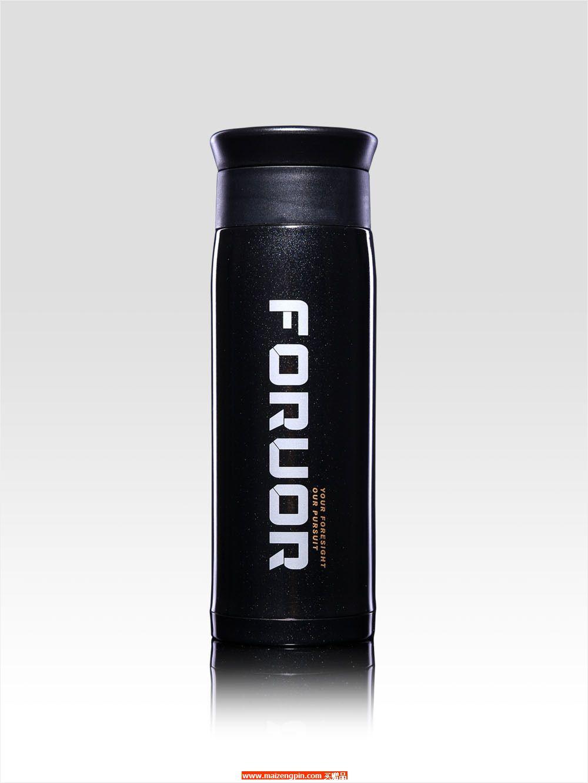 FU-A104 FU 黑金不锈钢真空保温杯